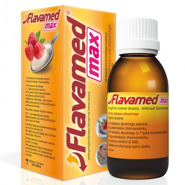 Flavamed MAX, 30 mg/ 5 ml, roztwór doustny, 100 ml