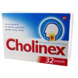 Cholinex, 150 mg, pastylki do ssania, 32 szt.