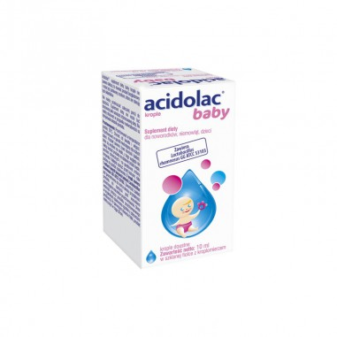 Acidolac Baby krople doustne, 10 ml